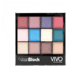 VIVO Cosmetics Enchanted 12 Shade Colour Block - Paleta Cieni do powiek